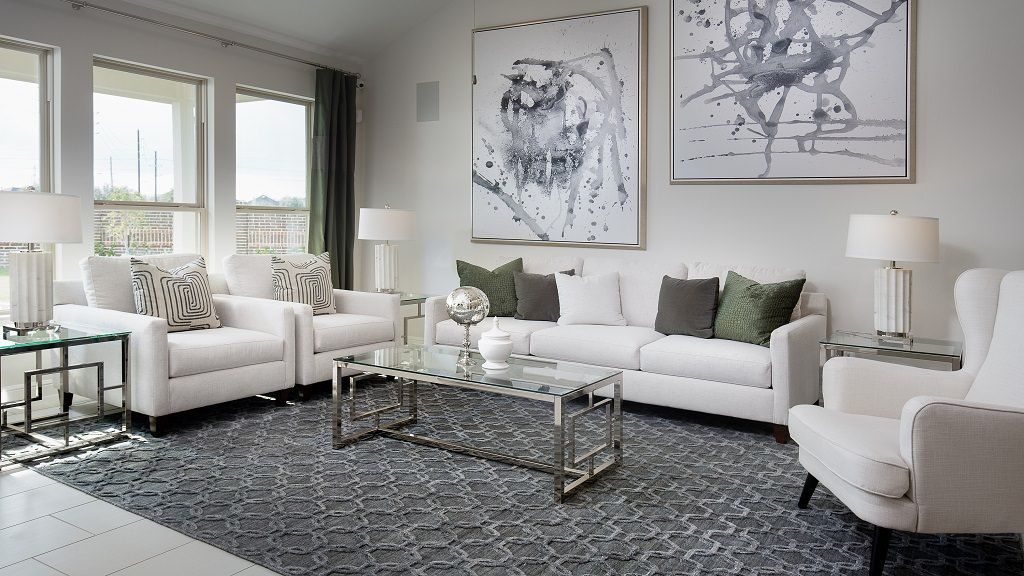 Living Area featured in the Jasmine By Taylor Morrison in Houston, TX