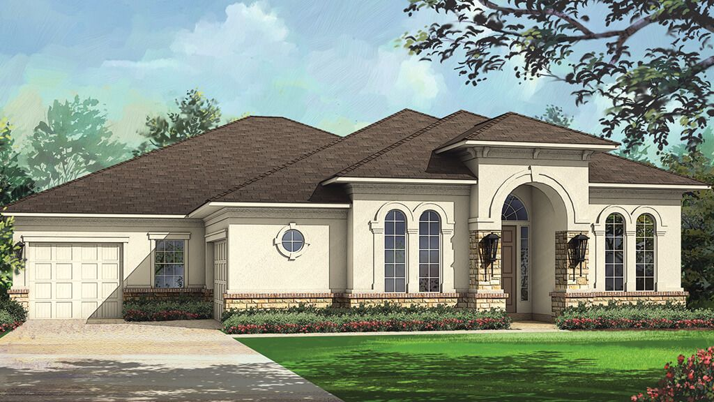 Exterior featured in the Altessa Plan By Taylor Morrison in Houston, TX