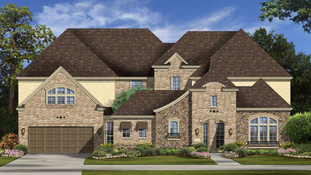 Exterior featured in the Portofino Plan By Taylor Morrison in Houston, TX