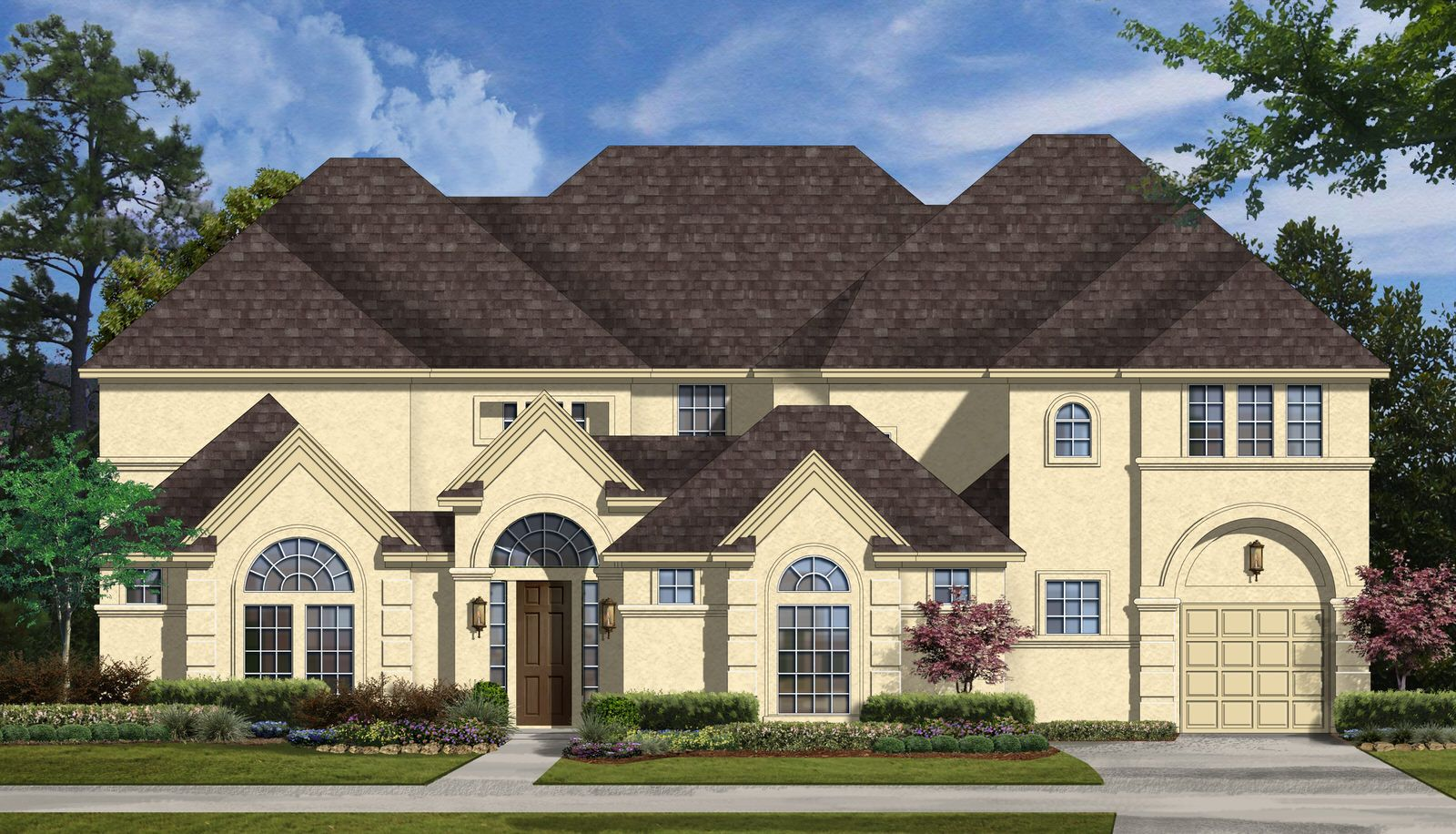 Exterior featured in the Positano Plan By Taylor Morrison in Houston, TX