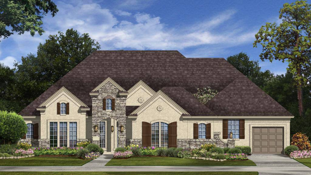 Exterior featured in the Torino Plan By Taylor Morrison in Houston, TX