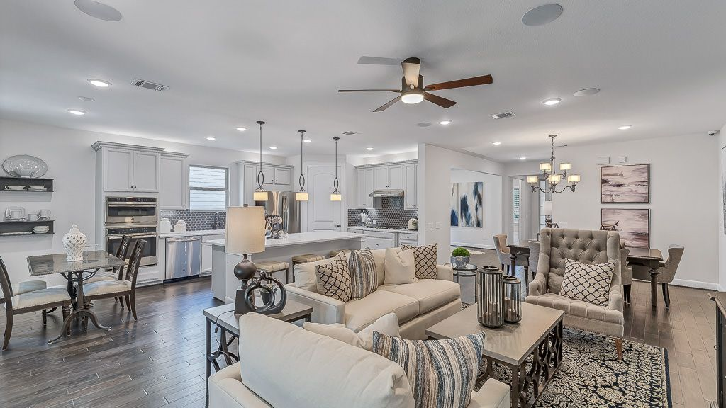 Living Area featured in the Driftwood By Taylor Morrison in Houston, TX