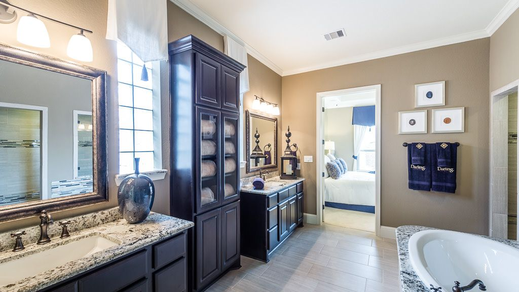 Bathroom featured in the 5136 By Darling  Homes in Houston, TX