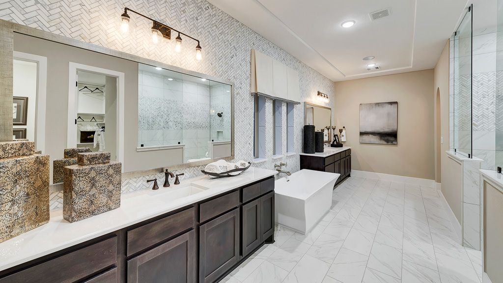 Bathroom featured in the 8091 By Darling  Homes in Houston, TX