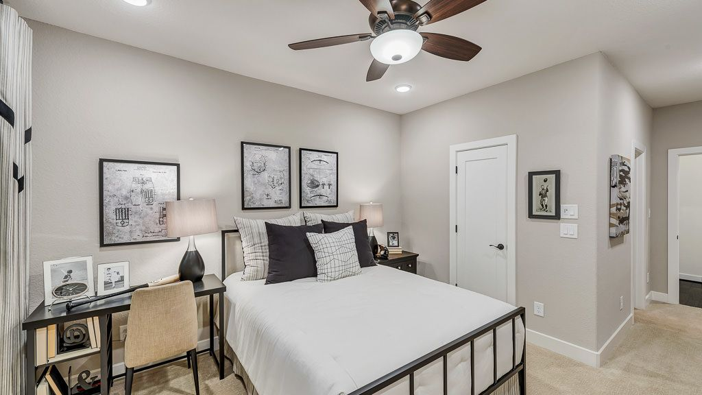 Bedroom featured in the 8091 By Darling  Homes in Houston, TX