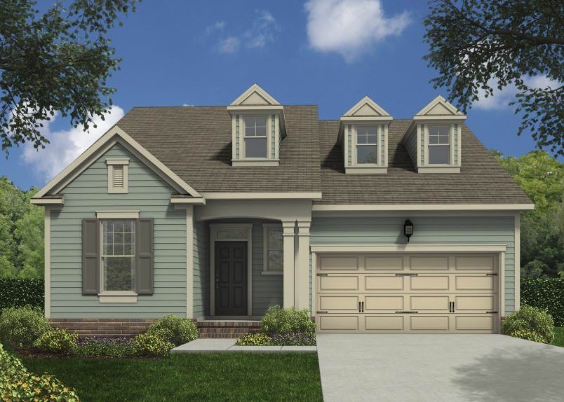 Exterior featured in the Bristol By Taylor Morrison in Raleigh-Durham-Chapel Hill, NC