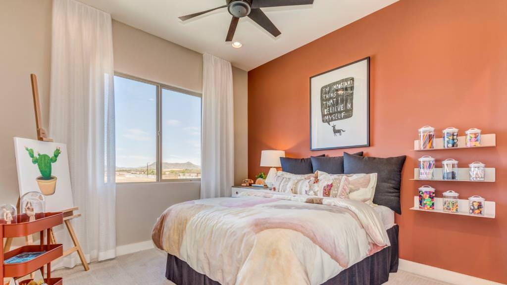 Bedroom featured in the Cottonwood By Taylor Morrison in Phoenix-Mesa, AZ