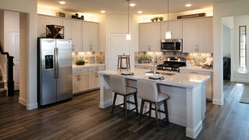Kitchen featured in the Pewter Model Plan By Taylor Morrison in Dallas, TX