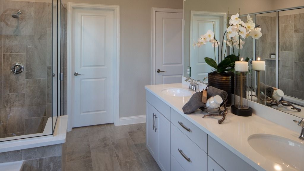 Bathroom featured in the Pewter Model Plan By Taylor Morrison in Dallas, TX