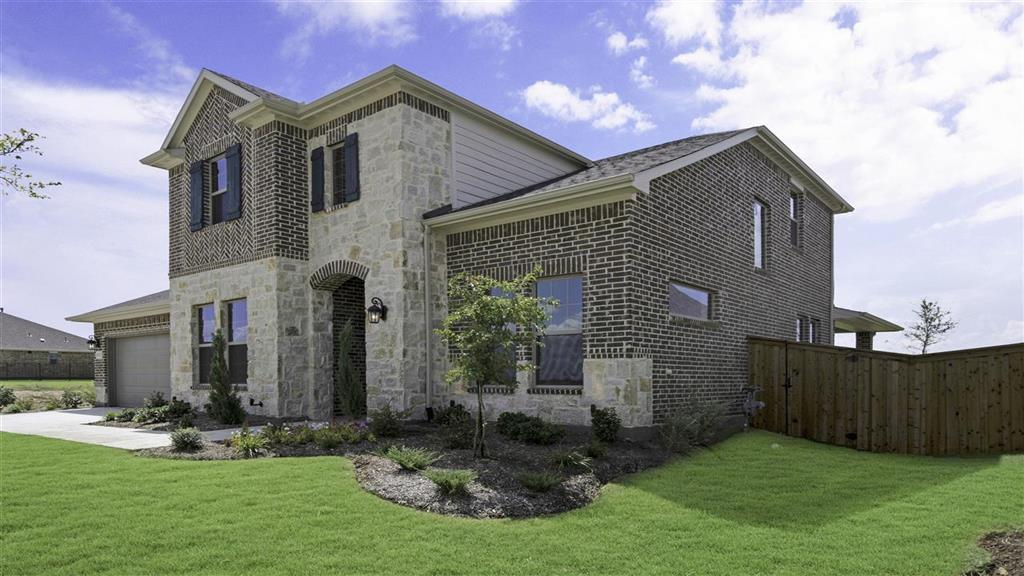 Exterior featured in the Amber Plan By Taylor Morrison in Dallas, TX