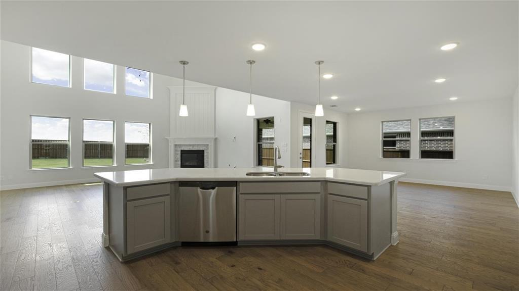Kitchen featured in the Amber Plan By Taylor Morrison in Dallas, TX