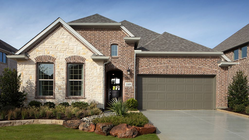 Exterior featured in the Chambray Plan By Taylor Morrison in Dallas, TX