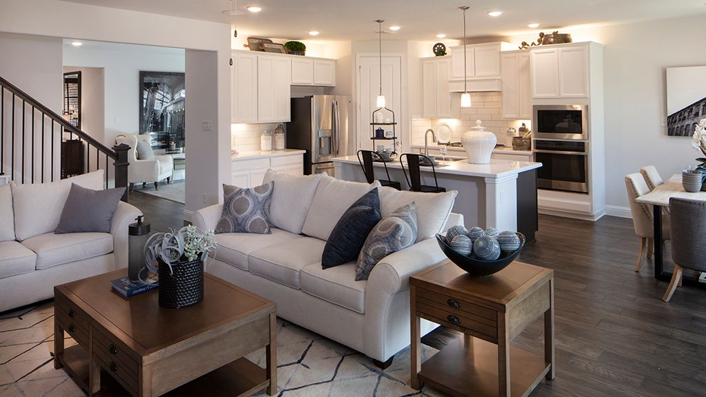 Living Area featured in the Chambray Plan By Taylor Morrison in Dallas, TX