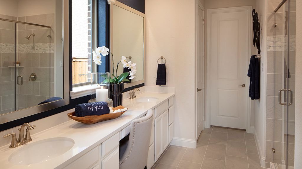 Bathroom featured in the Chambray Plan By Taylor Morrison in Dallas, TX