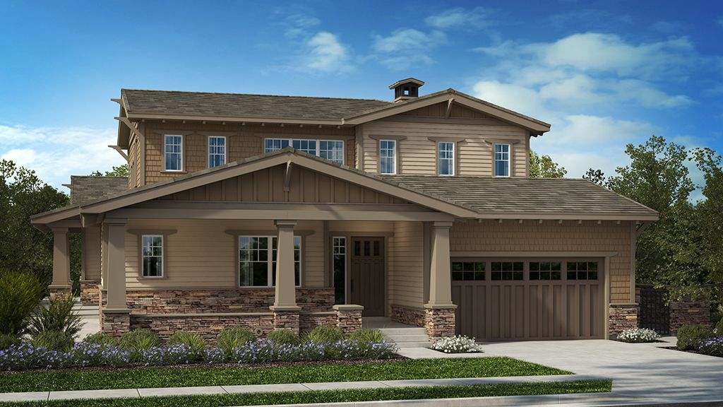 Exterior featured in the Residence 4 Wilder Plan By Taylor Morrison in Oakland-Alameda, CA