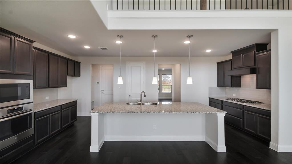 Kitchen featured in the Sapphire By Taylor Morrison in Dallas, TX