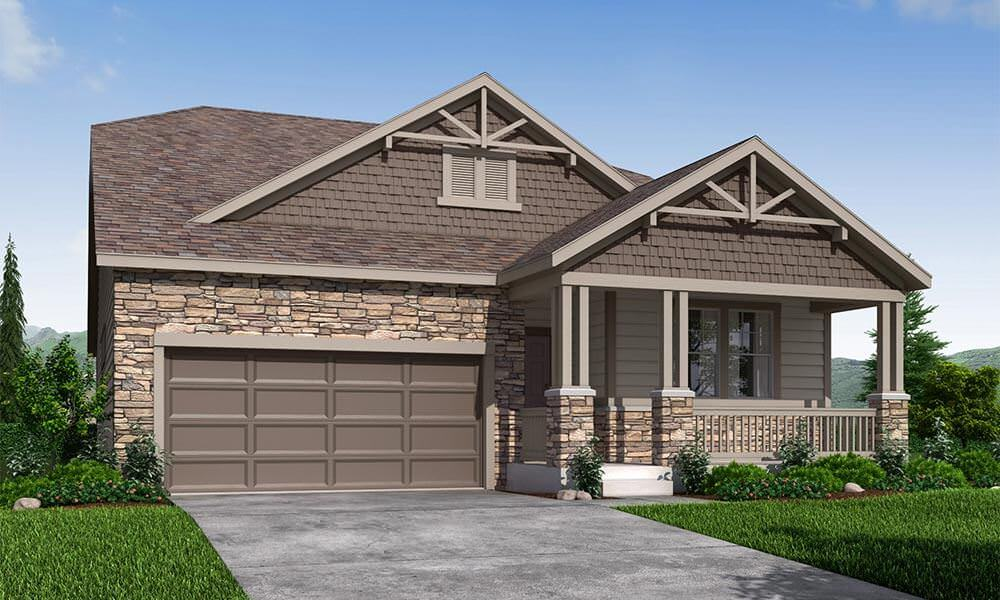 Exterior featured in the Alamosa 40A2 By Taylor Morrison in Fort Collins-Loveland, CO