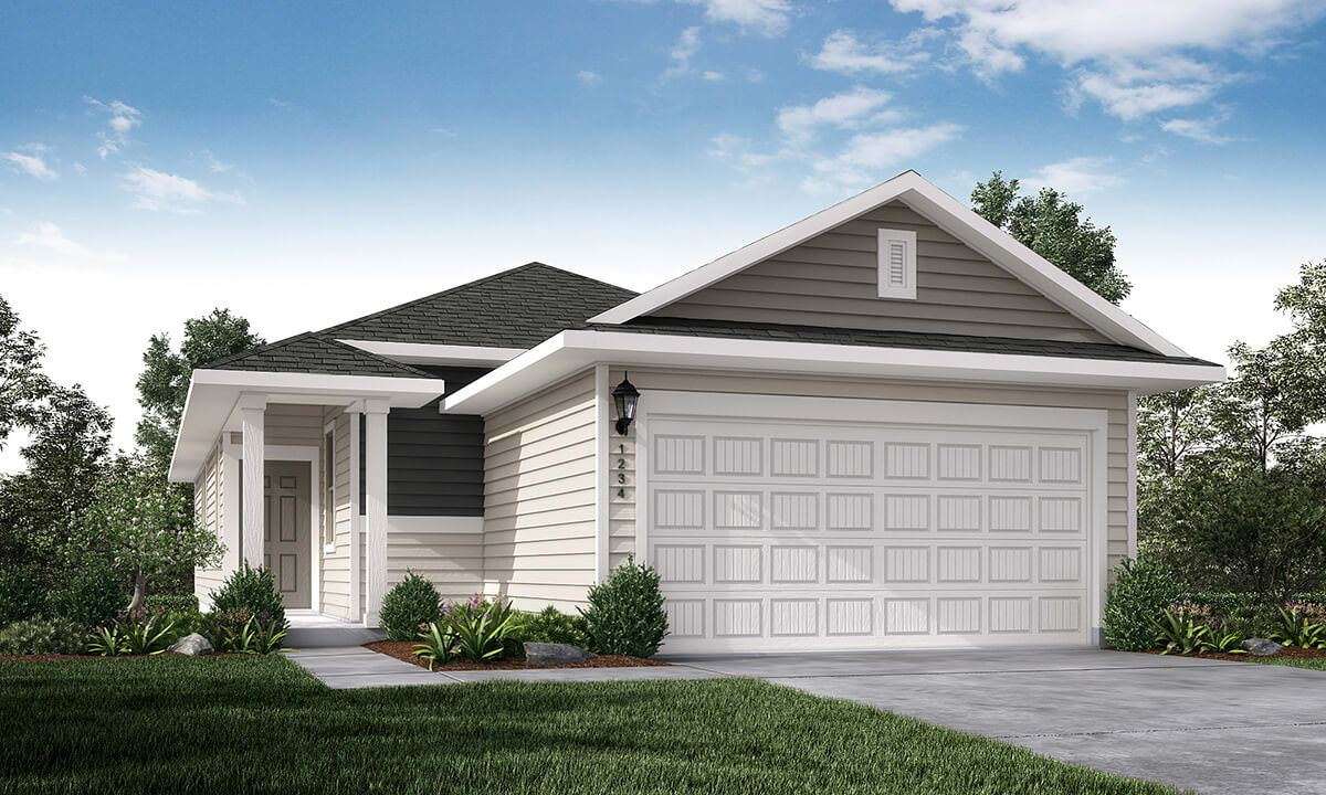 Exterior featured in the Sonata By Taylor Morrison in Austin, TX