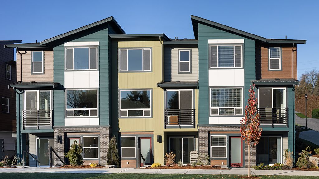 Exterior featured in The Bristol  A WLH By Taylor Morrison in Seattle-Bellevue, WA