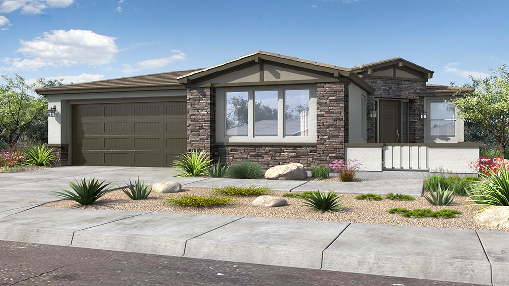 Exterior featured in the Coronado By Taylor Morrison in Phoenix-Mesa, AZ