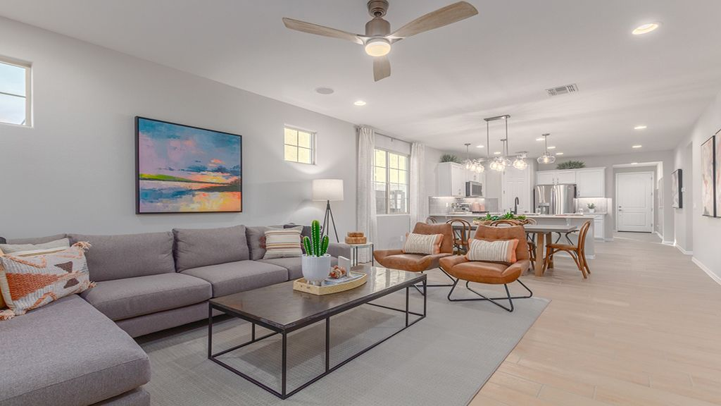 Living Area featured in the Harlow By Taylor Morrison in Phoenix-Mesa, AZ