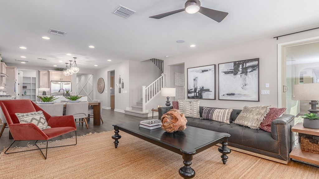 Living Area featured in the Winsor By Taylor Morrison in Phoenix-Mesa, AZ