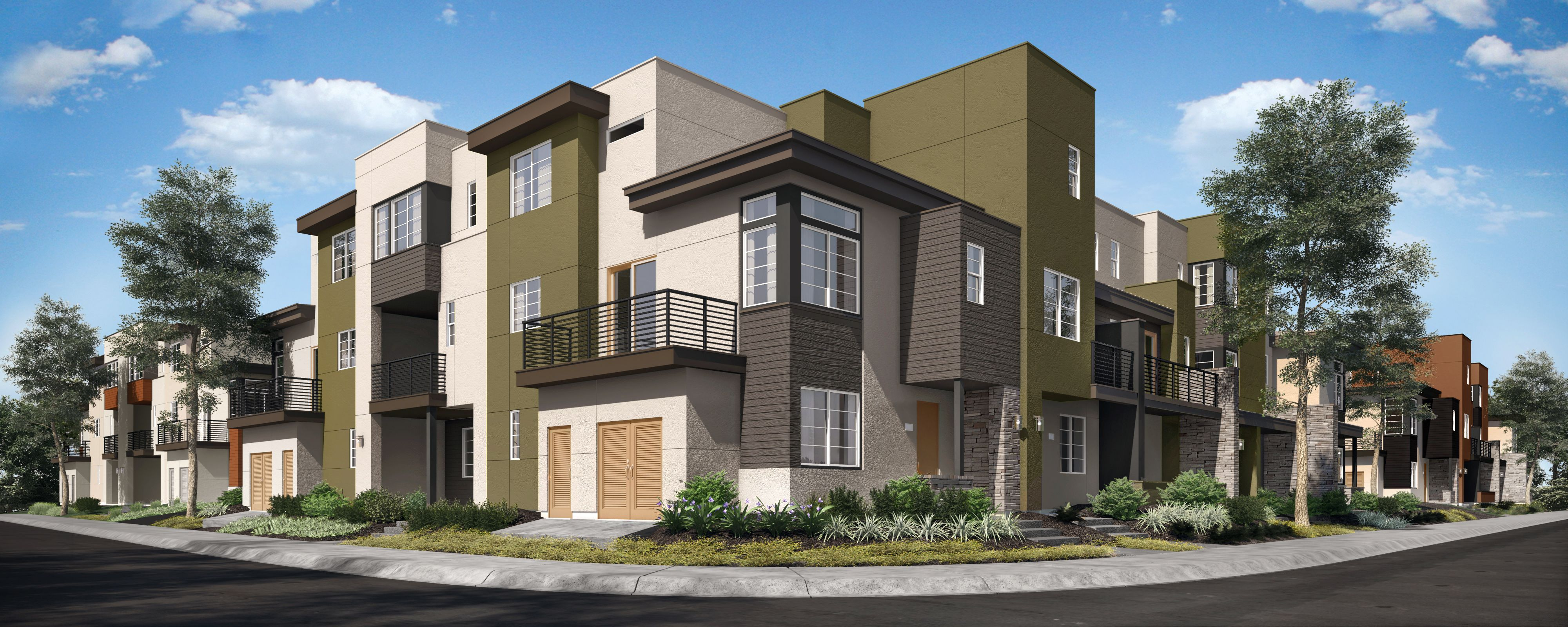 Exterior featured in the Plan 5 WLH By Taylor Morrison in Oakland-Alameda, CA