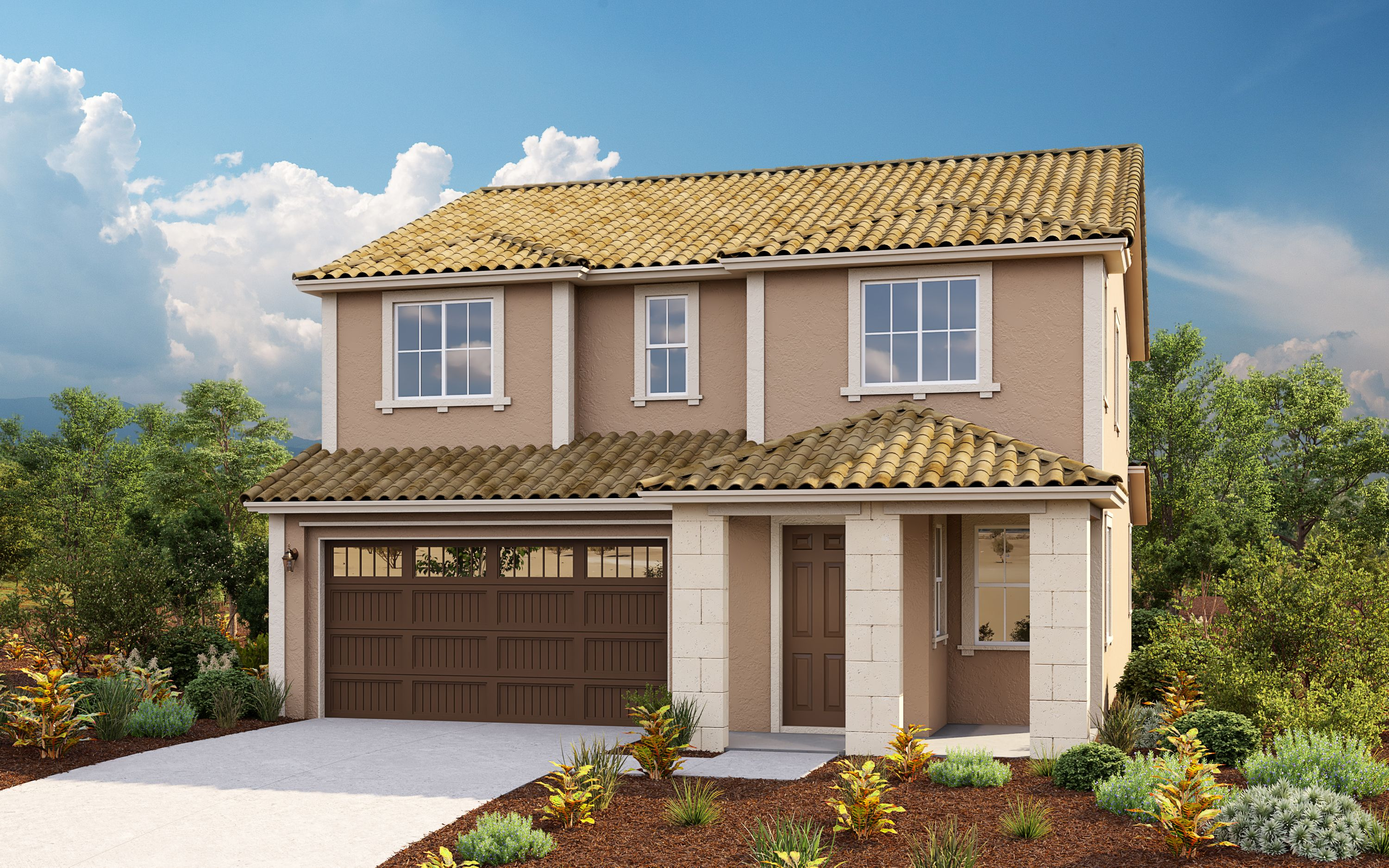 Exterior featured in the Plan 4 Skye Plan By Taylor Morrison in Sacramento, CA