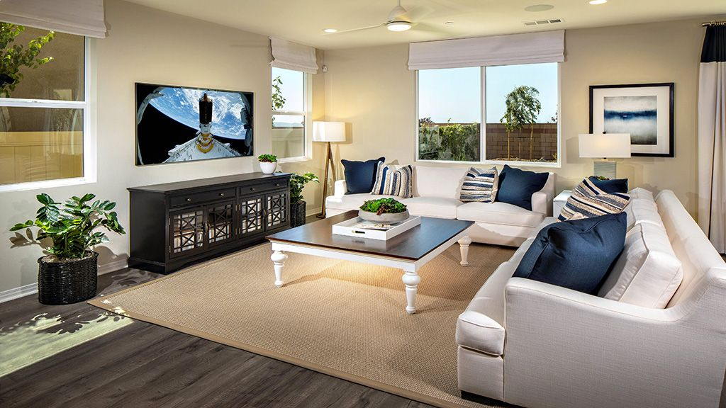 Living Area featured in the Plan 2 By Taylor Morrison in Riverside-San Bernardino, CA