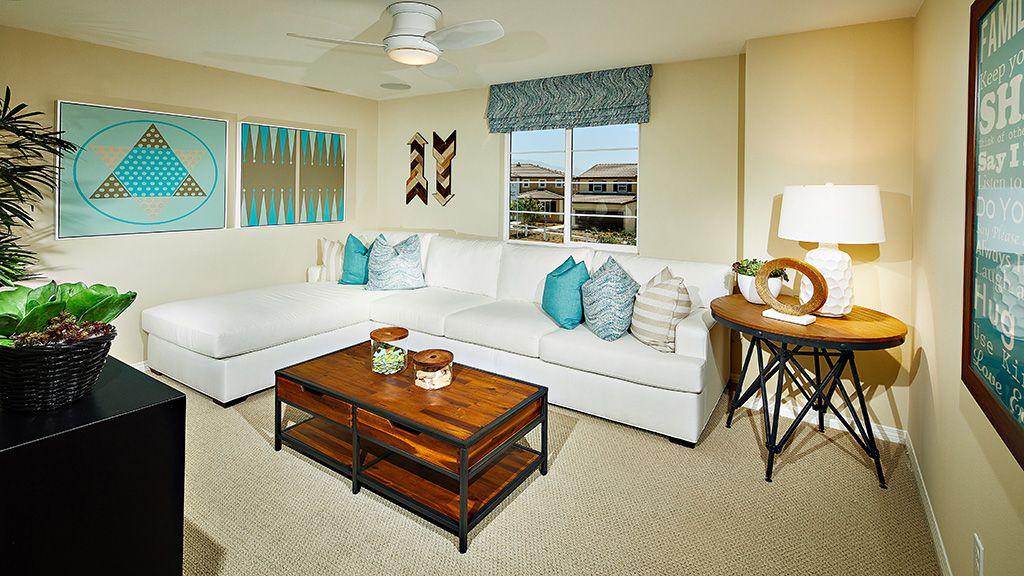 Living Area featured in the Plan 6 By Taylor Morrison in Riverside-San Bernardino, CA