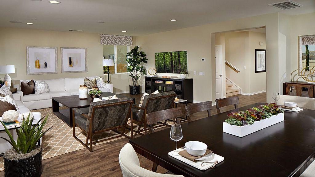 Living Area featured in the Plan 12 By Taylor Morrison in Riverside-San Bernardino, CA