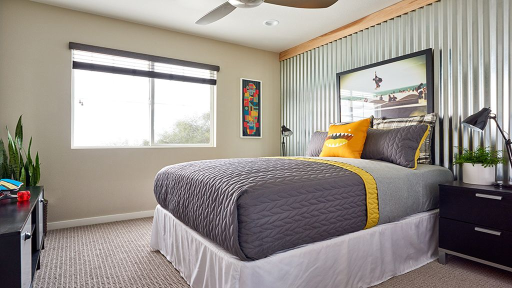 Bedroom featured in the Residence 4   WLH By Taylor Morrison in Los Angeles, CA