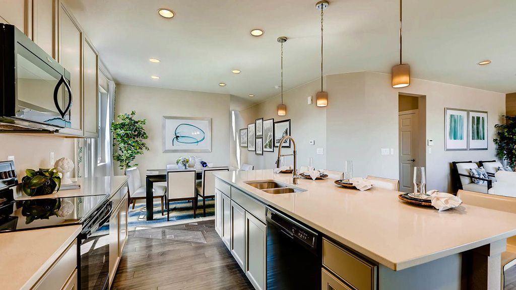 Kitchen featured in the Torrey By Taylor Morrison in Denver, CO
