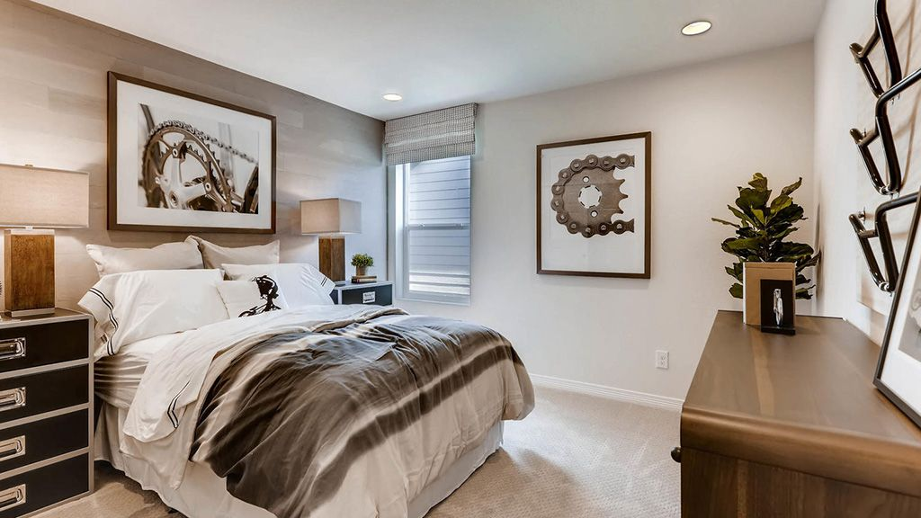 Bedroom featured in the Evans By Taylor Morrison in Denver, CO