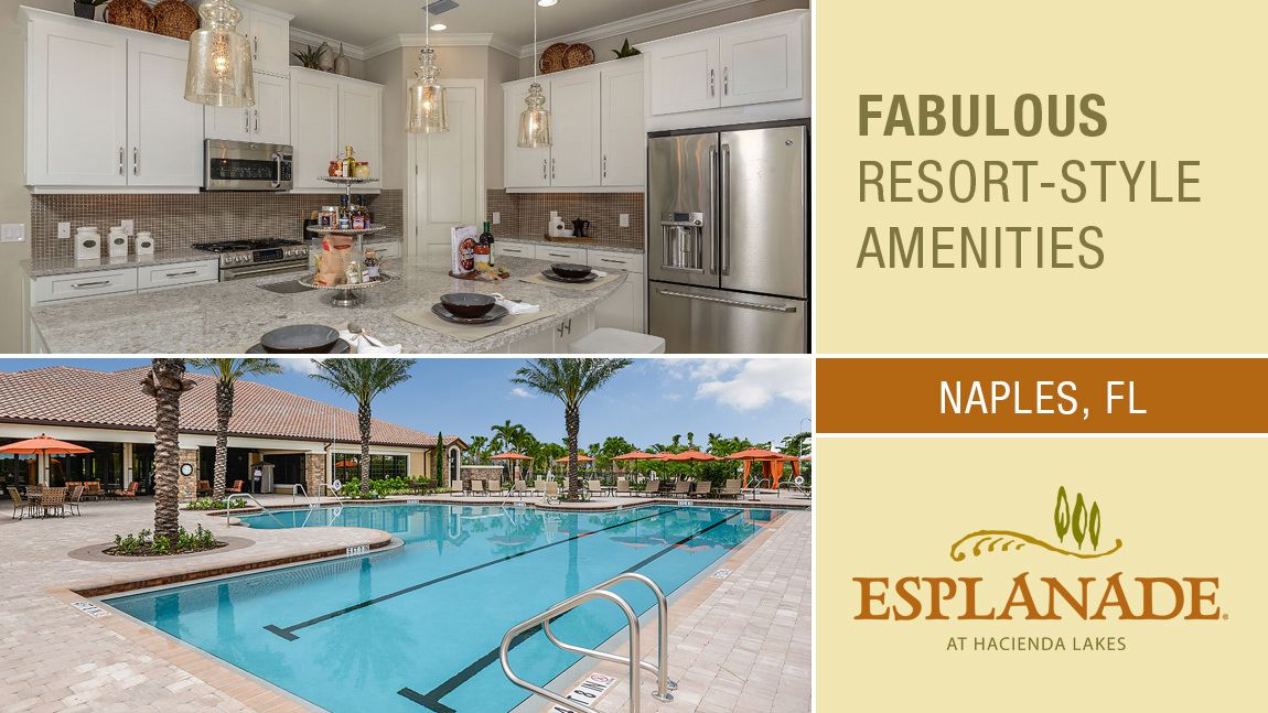 'Esplanade at Hacienda Lakes' by Taylor Morrison - Fort Myers Naples in Naples