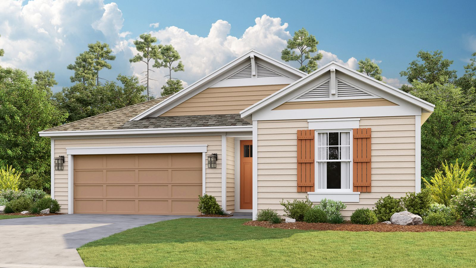 Exterior featured in the Atlantis By Taylor Morrison in Jacksonville-St. Augustine, FL