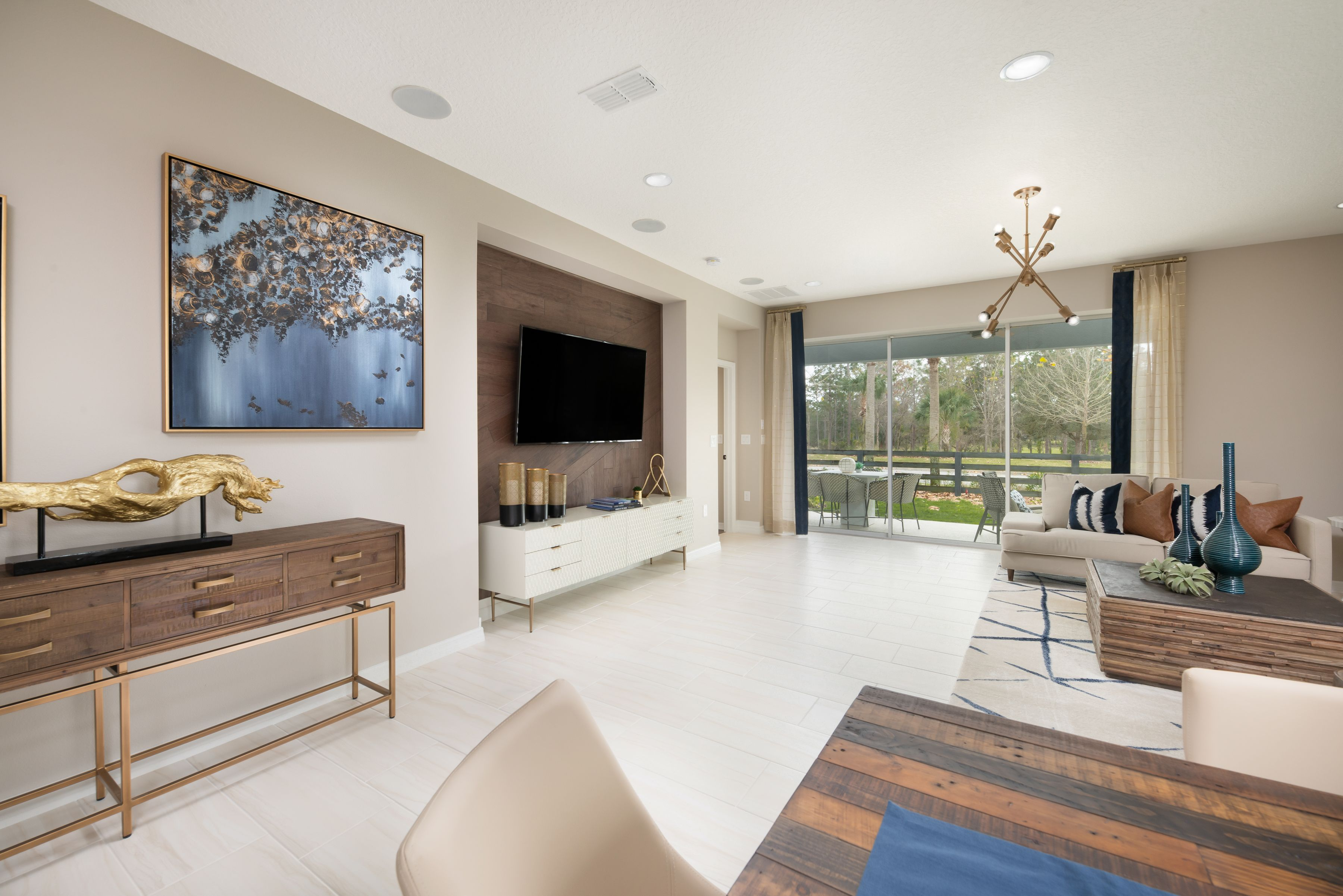 Living Area featured in the Antigua By Taylor Morrison in Orlando, FL