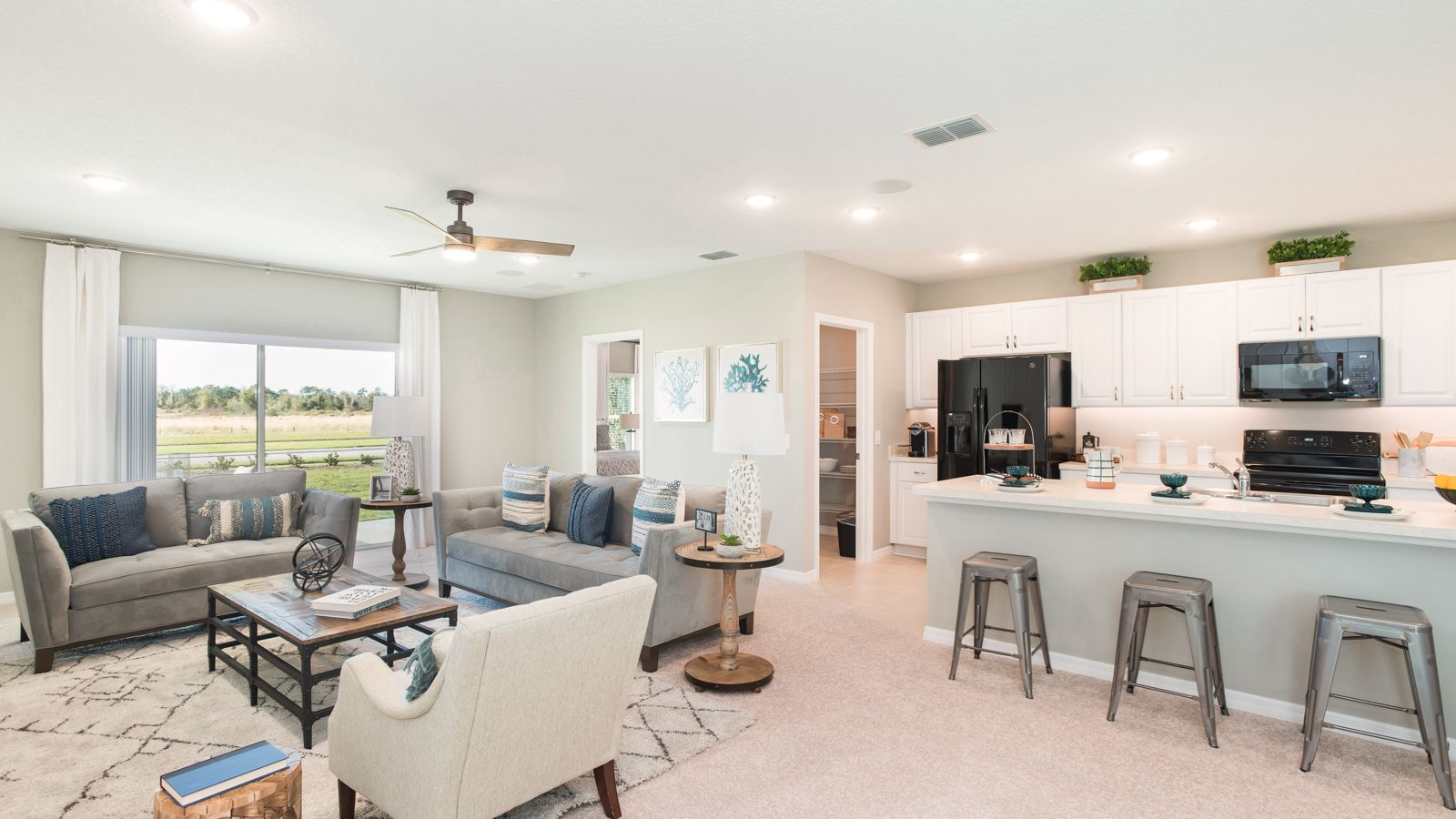 Living Area featured in the Magnolia By Taylor Morrison in Orlando, FL