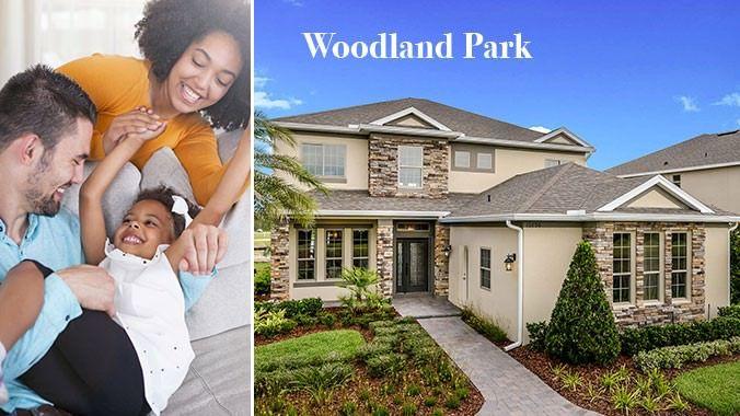 'Woodland Park' by Taylor Morrison - Orlando in Orlando