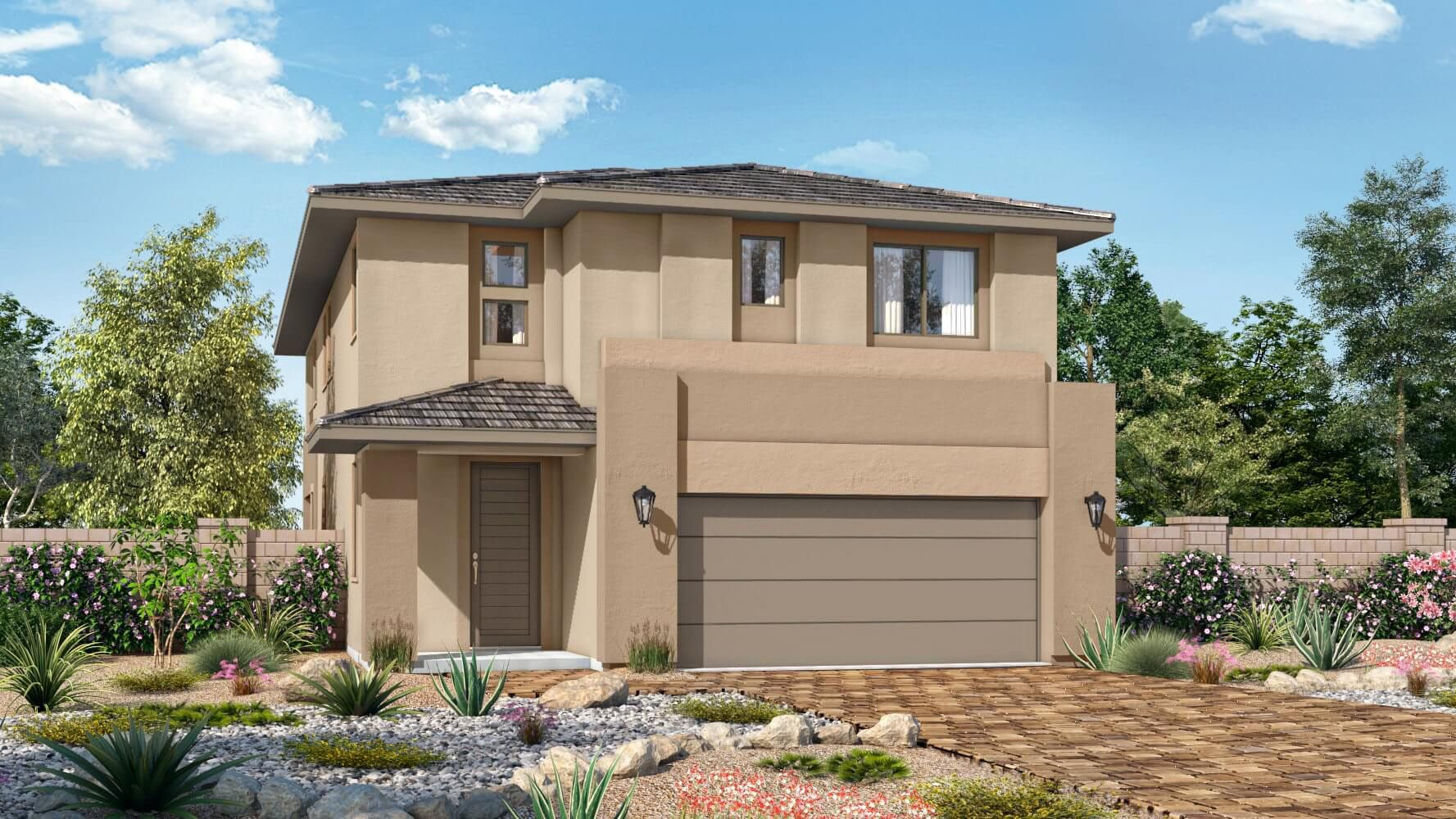 Exterior featured in the Plan 5 WLH By Taylor Morrison in Las Vegas, NV