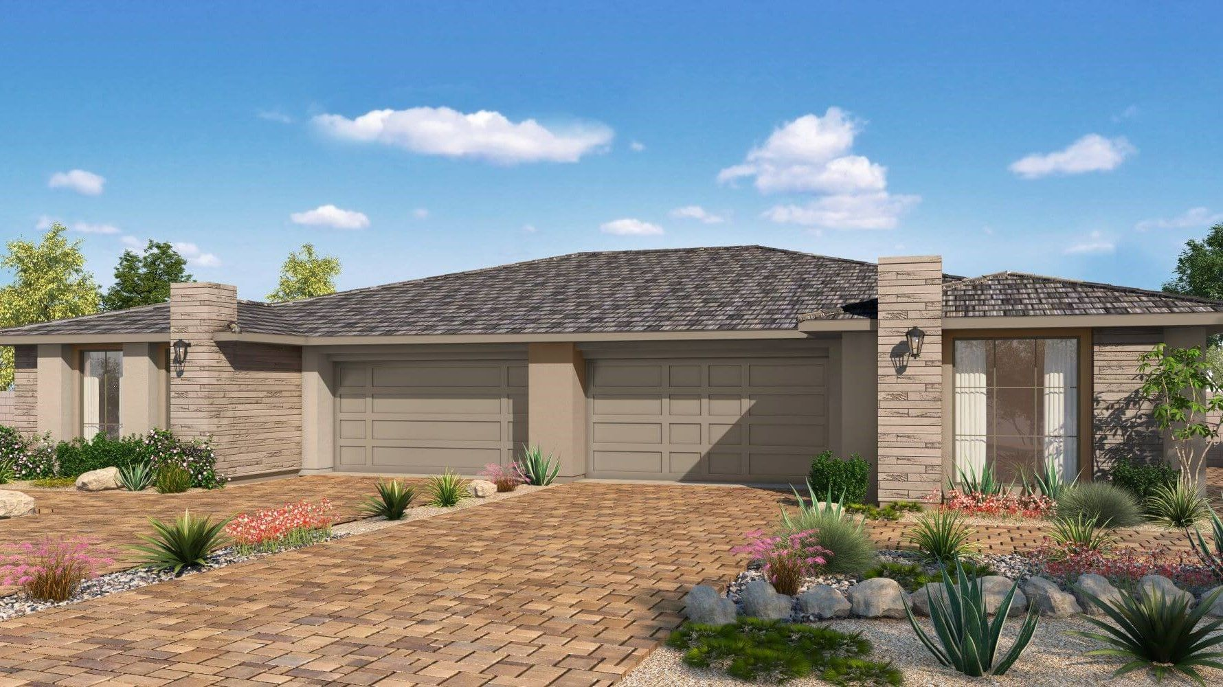 Exterior featured in the Plan 6 WLH By Taylor Morrison in Las Vegas, NV