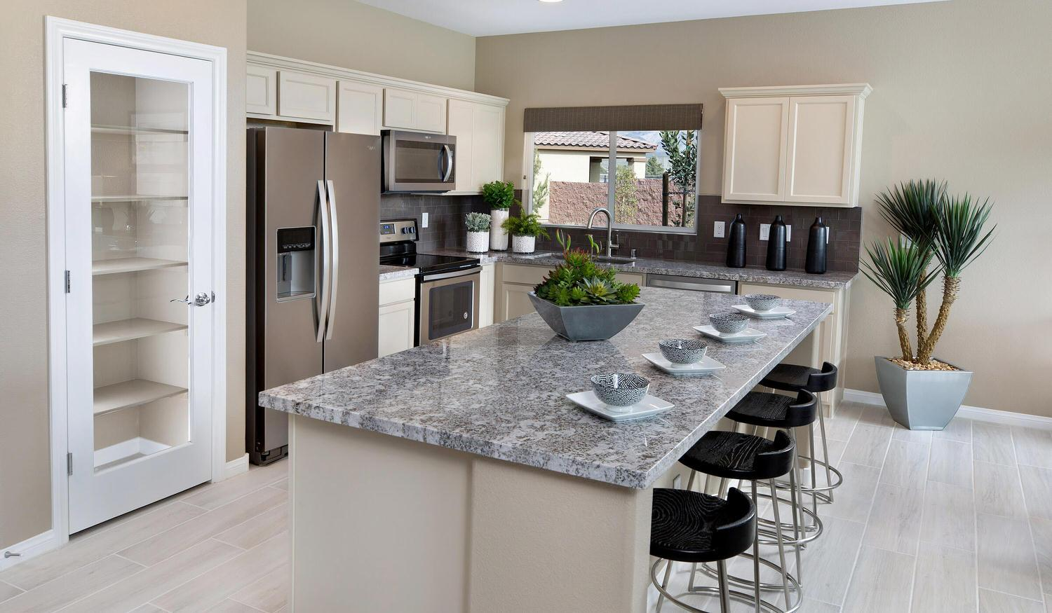 Kitchen featured in the Plan 2 By Taylor Morrison in Las Vegas, NV