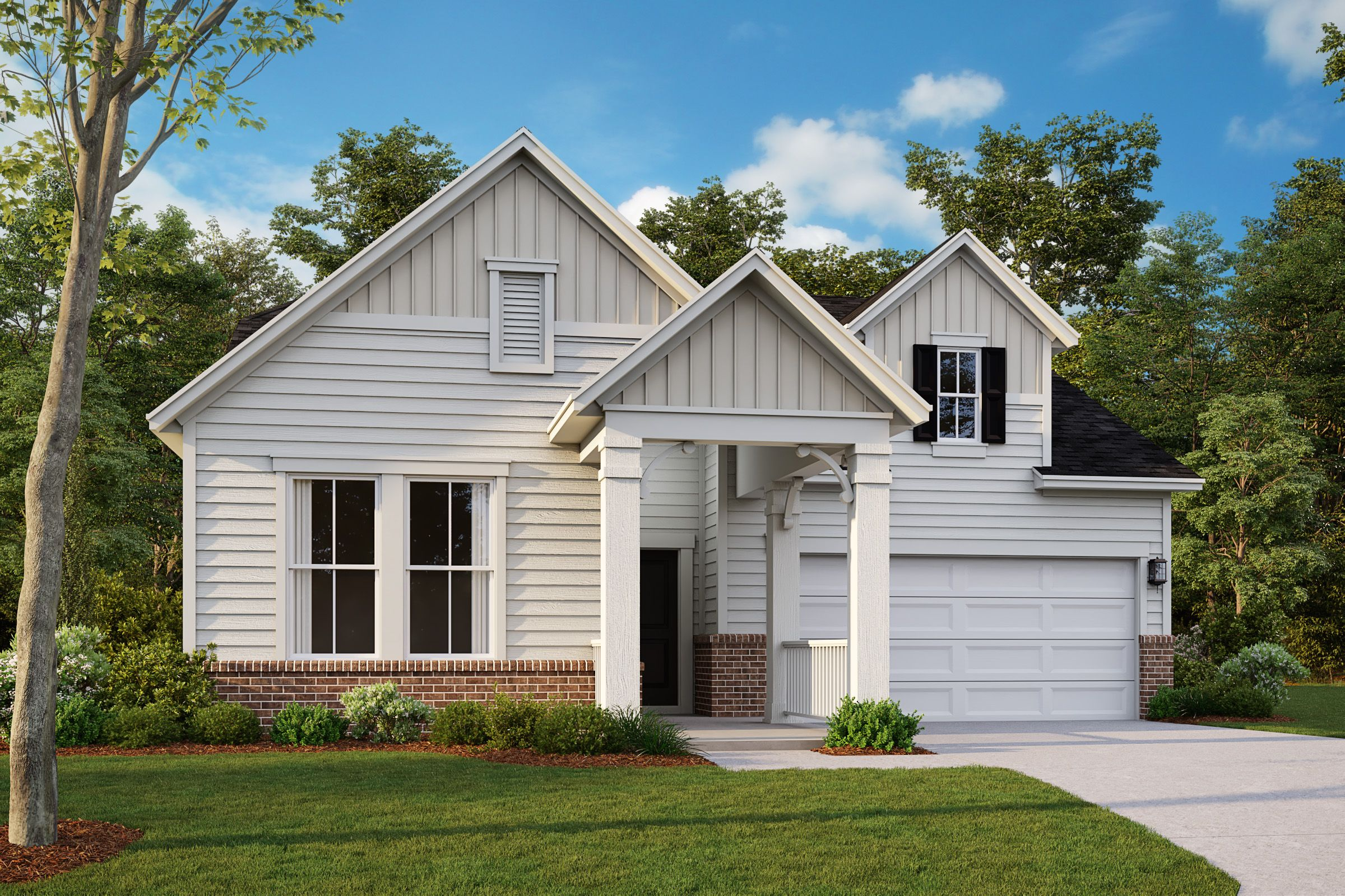 Exterior featured in the Dove By Taylor Morrison in Raleigh-Durham-Chapel Hill, NC