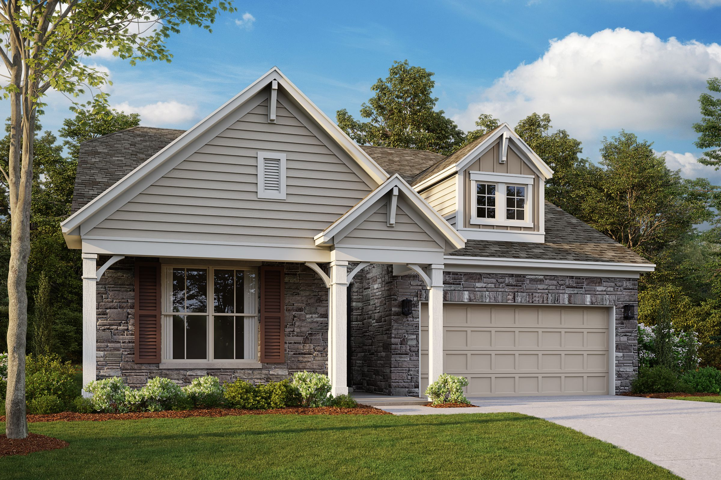 Exterior featured in the Turnbury By Taylor Morrison in Raleigh-Durham-Chapel Hill, NC