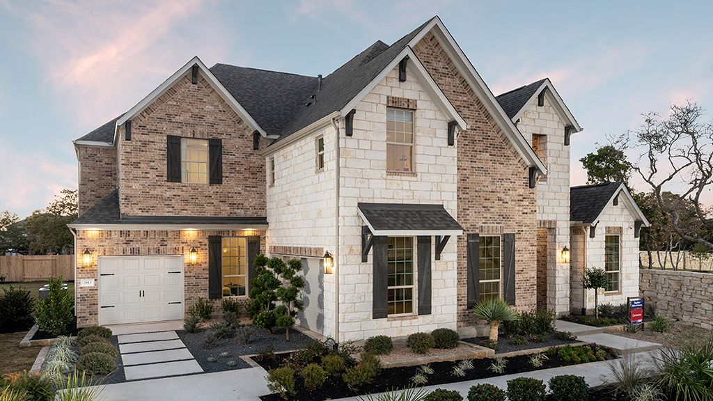 Exterior featured in the Concerto By Taylor Morrison in Austin, TX