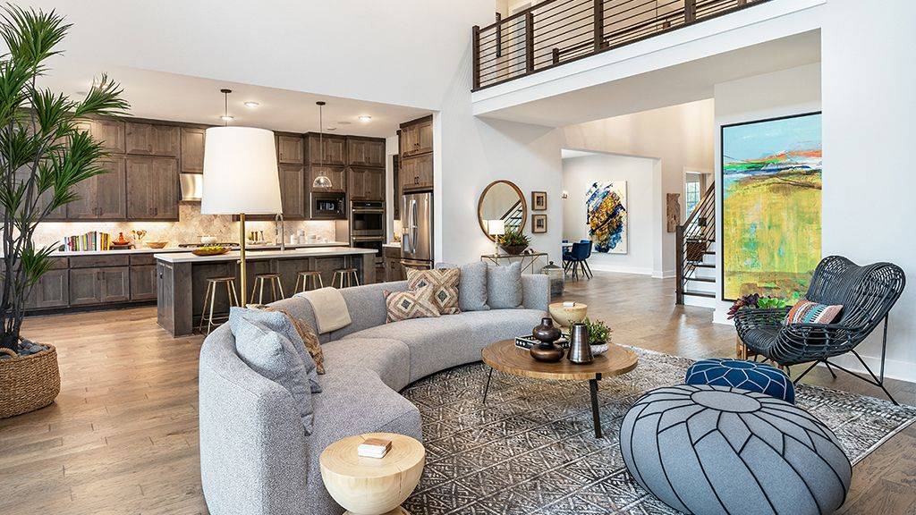 Living Area featured in the Concerto By Taylor Morrison in Austin, TX