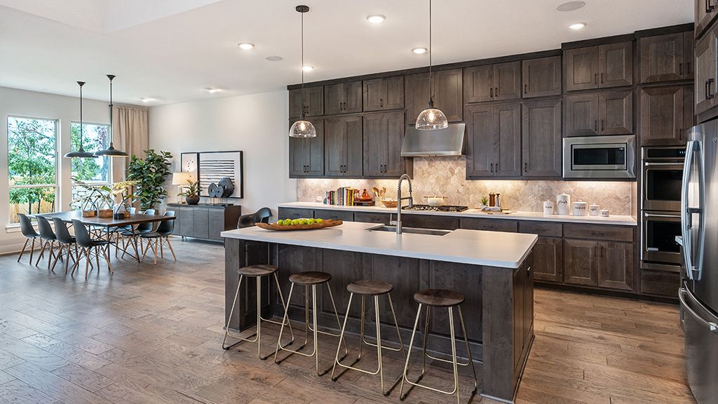 Kitchen featured in the Concerto By Taylor Morrison in Austin, TX