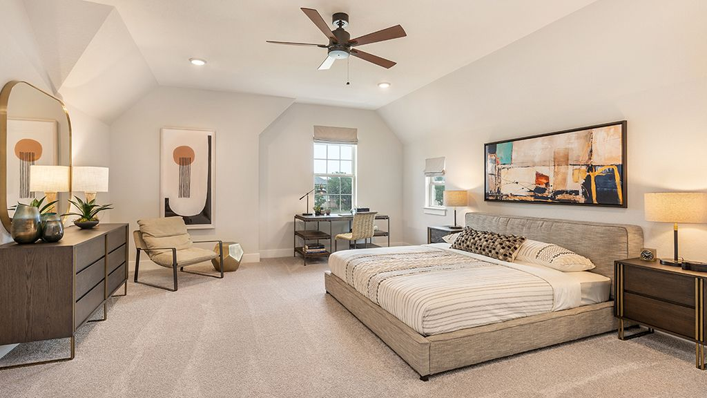 Bedroom featured in the Concerto By Taylor Morrison in Austin, TX