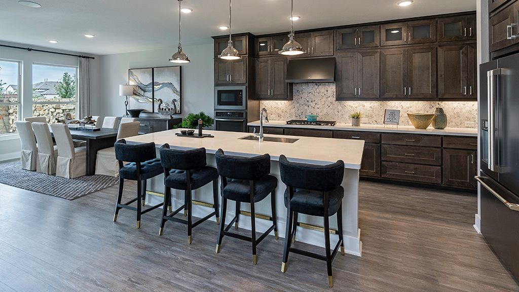 Kitchen featured in the Larimar By Taylor Morrison in Austin, TX