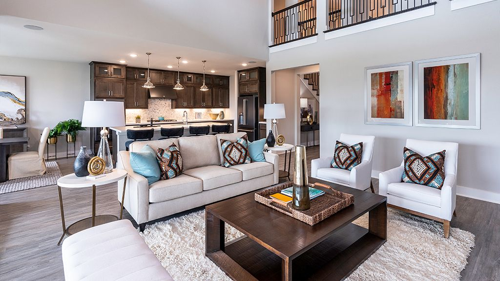 Living Area featured in the Larimar By Taylor Morrison in Austin, TX